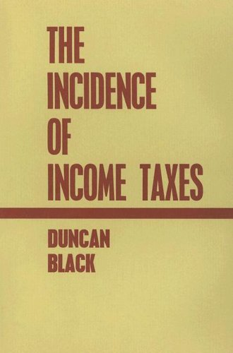 The Incidence of Income Taxes