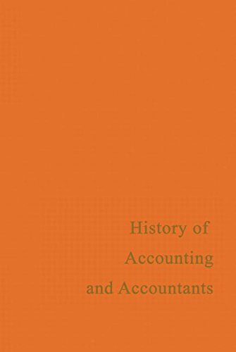 9780714612799: A History of Accounting and Accountants