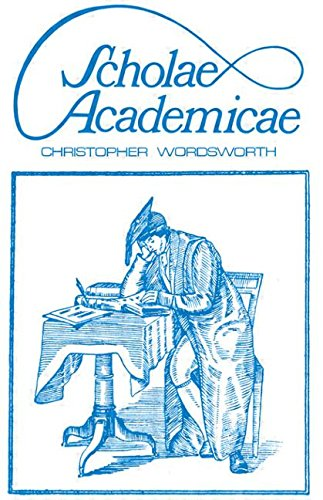 Scholae Academicae : Some account of studies at the English universities in the 18th Century