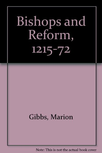 9780714614762: Bishops and Reform