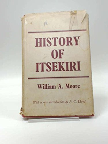 History of Itsekiri (1936) Cb (Cass Library: William A Moore