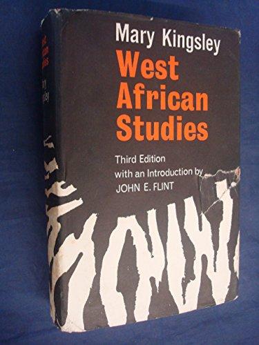 9780714618227: West African Studies