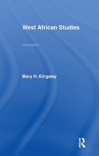 9780714618234: West African Studies