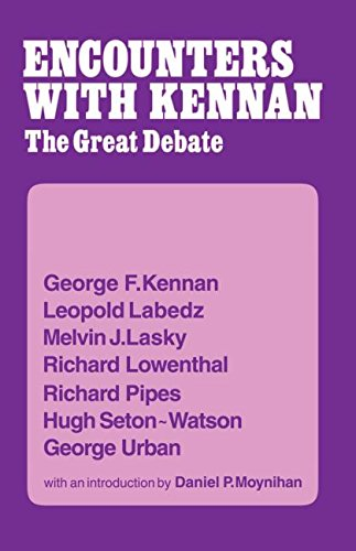 Encounters with Kennan : The Great Debate: Kennan, George F.