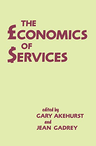9780714633374: The Economics of Services