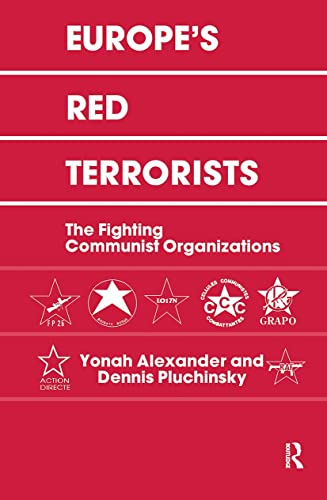 9780714634883: Europe's Red Terrorists: The Fighting Communist Organizations