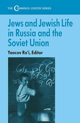 9780714641492: Jews and Jewish Life in Russia and the Soviet Union (Cummings Center (Paperback))