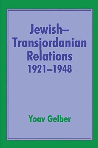 9780714642062: Jewish-Transjordanian Relations 1921-1948: Alliance of Bars Sinister