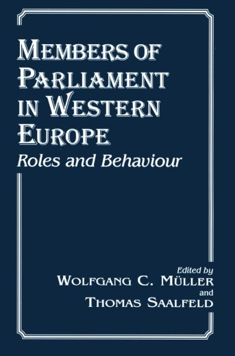 9780714643694: Members of Parliament in Western Europe: Roles and Behaviour (Library of Legislative Studies)