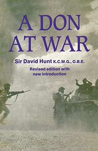 9780714643748: A Don at War (Studies in Intelligence)