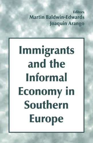 9780714644844: Immigrants and the Informal Economy in Southern Europe