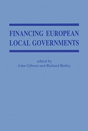 9780714645131: Financing European Local Governments (Local Government Studies)