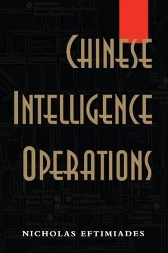 9780714645889: Chinese Intelligence Operations: Espionage Damage Assessment Branch, US Defence Intelligence Agency