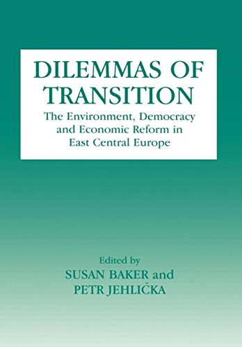 9780714647647: Dilemmas of Transition: The Environment, Democracy and Economic Reform in East Central Europe (Environmental Politics (Frank Cass))