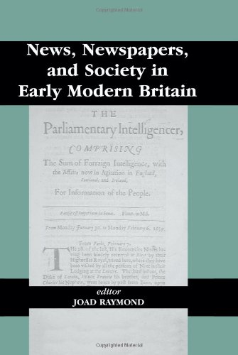 9780714649443: News, Newspapers and Society in Early Modern Britain