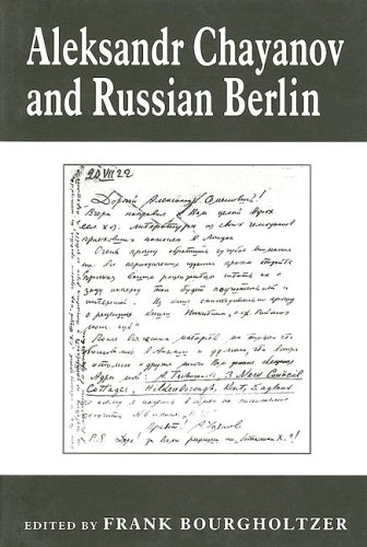 9780714650241: Aleksandr Chayanov and Russian Berlin (The Library of Peasant Studies)