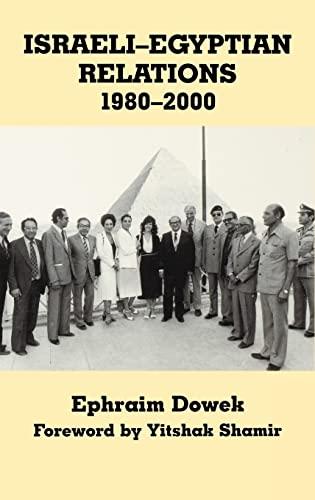 Israeli-Egyptian Relations, 1980-2000: DOWEK, EPHRAIM