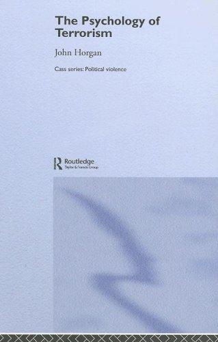 9780714652627: The Psychology of Terrorism (Political Violence)