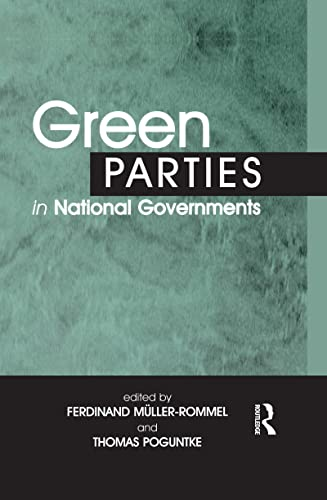 9780714652641: Green Parties in National Governments (Environmental Politics)