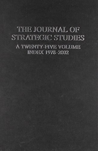 9780714655574: Journal of Strategic Studies: A Twenty-Five Volume Index 1978-2002