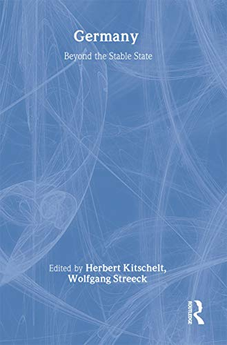 9780714655888: Germany: Beyond the Stable State