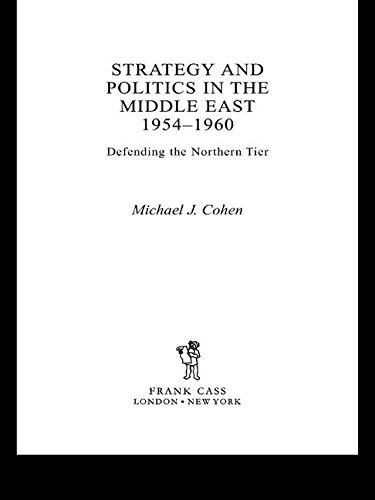 9780714656304: Strategy and Politics in the Middle East, 1954-1960: Defending the Northern Tier