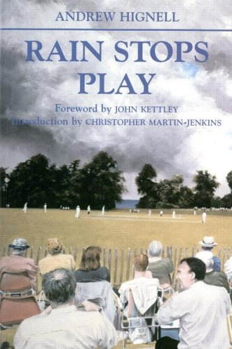 9780714681863: Rain Stops Play: Cricketing Climates (Sport in the Global Society)
