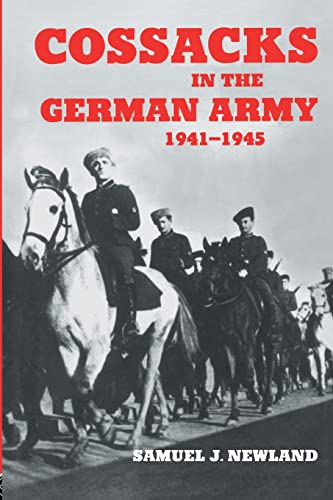 9780714681993: Cossacks in the German Army 1941-1945
