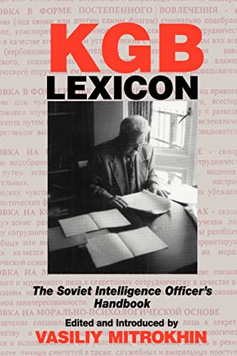 9780714682358: KGB Lexicon: The Soviet Intelligence Officers Handbook