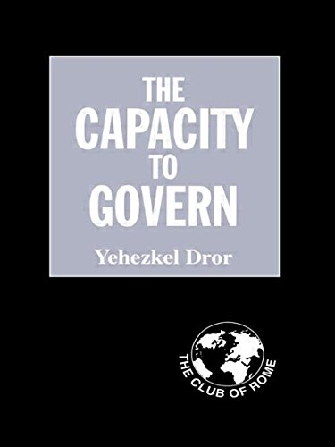 9780714683140: The Capacity to Govern: A Report to the Club of Rome