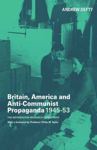 9780714683614: Britain, America and Anti-Communist Propaganda 1945-53: The Information Research Department (Studies in Intelligence)