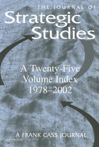 9780714684727: Journal of Strategic Studies: A Twenty-Five Volume Index 1978-2002