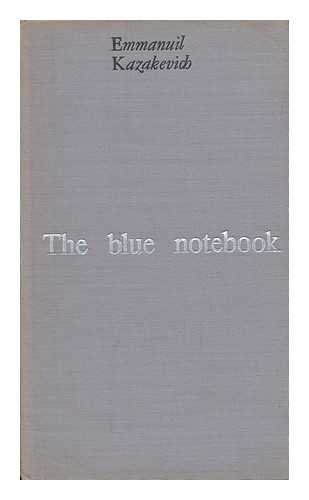 9780714701295: Blue Notebook, the