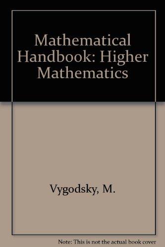 9780714704241: Mathematical Handbook Higher Mathematics