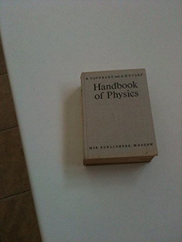 9780714705606: Handbook of Physics