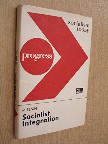 9780714705651: Socialist Integration