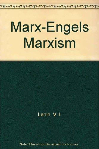 9780714711409: Marx-Engels Marxism