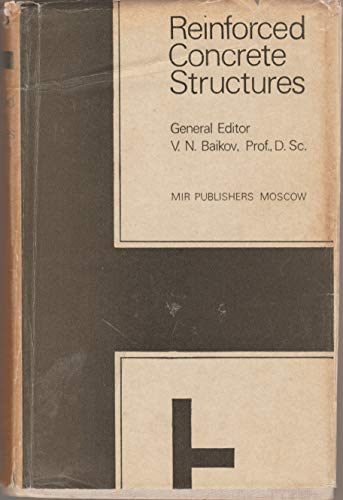 9780714712123: Reinforced Concrete Structures