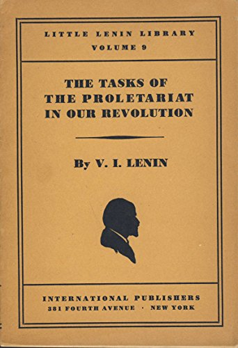 9780714716343: Tasks of the Proletariat in Our Revolution