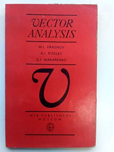 9780714716947: Vector Analysis
