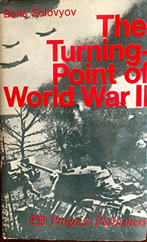 9780714718163: The Turning Point of World War II