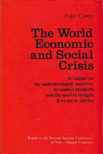 9780714719245: World Economic and Social Crisis