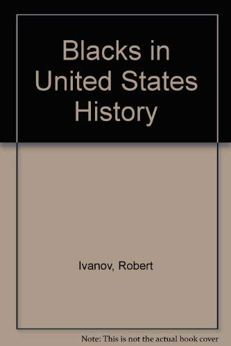 9780714721316: Blacks in United States History