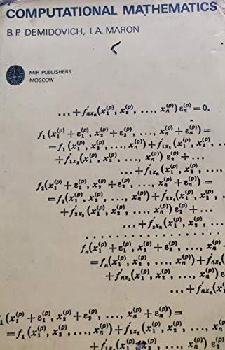 9780714726519: Computational Mathematics