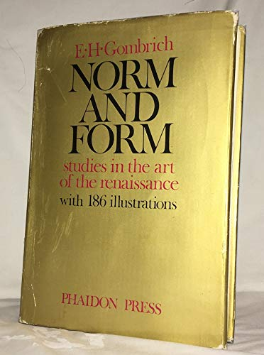 9780714812946: Norm and Form