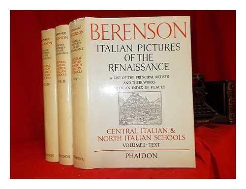9780714813547: Italian Pictures of the Renaissance Volume 1