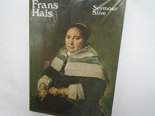 9780714814476: Frans Hals: Catalogue v. 3 (Studies in the history of European art / Kress Foundation)