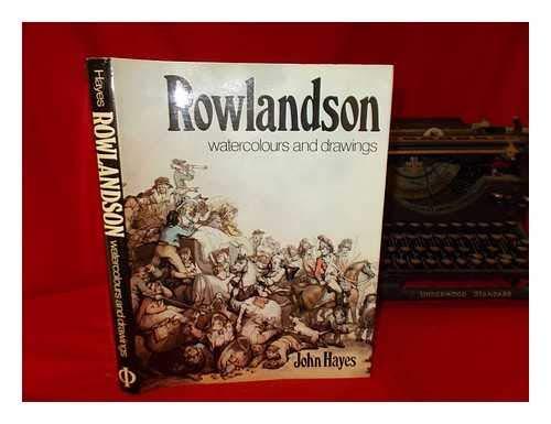 9780714815558: Rowlandson: Watercolurs and drawings