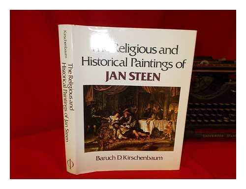 9780714817774: Religious and Historical Paintings of Jan Steen