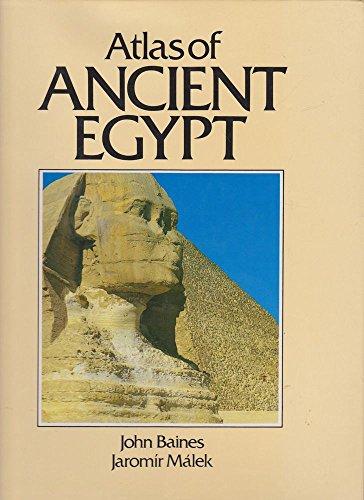 9780714819587: Atlas of ancient Egypt